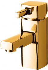 DoratO Moderno Mono Basin Mixer Tap in 24ct Gold